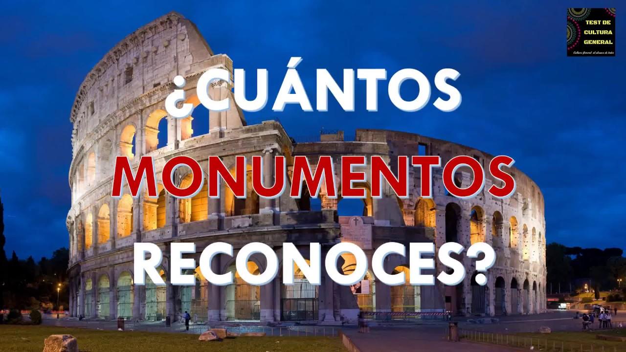 """¿Cuántos """"MONUMENTOS"""" Reconoces? CULTURA GENERAL/ PREGUNTAS Y RESPUESTAS"""