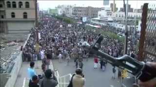 مسيرة تكتل اللقاء المشترك في اليمن