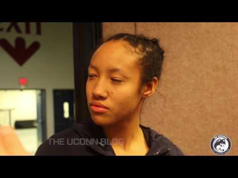 UConn Women's Basketball Postgame (USF) - Players