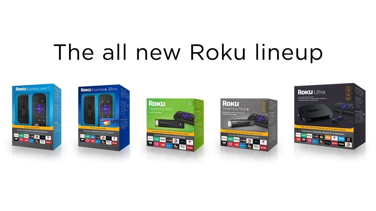 Meet the new Roku streaming player lineup (2017)
