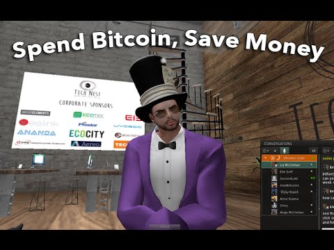 MadBitcoins Live in Second Life: How to Save Money by Spending Bitcoins