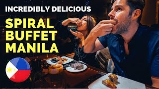 The BEST BUFFET in the WORLD is in MANILA – SPIRAL BUFFET Filipino Food Vlog