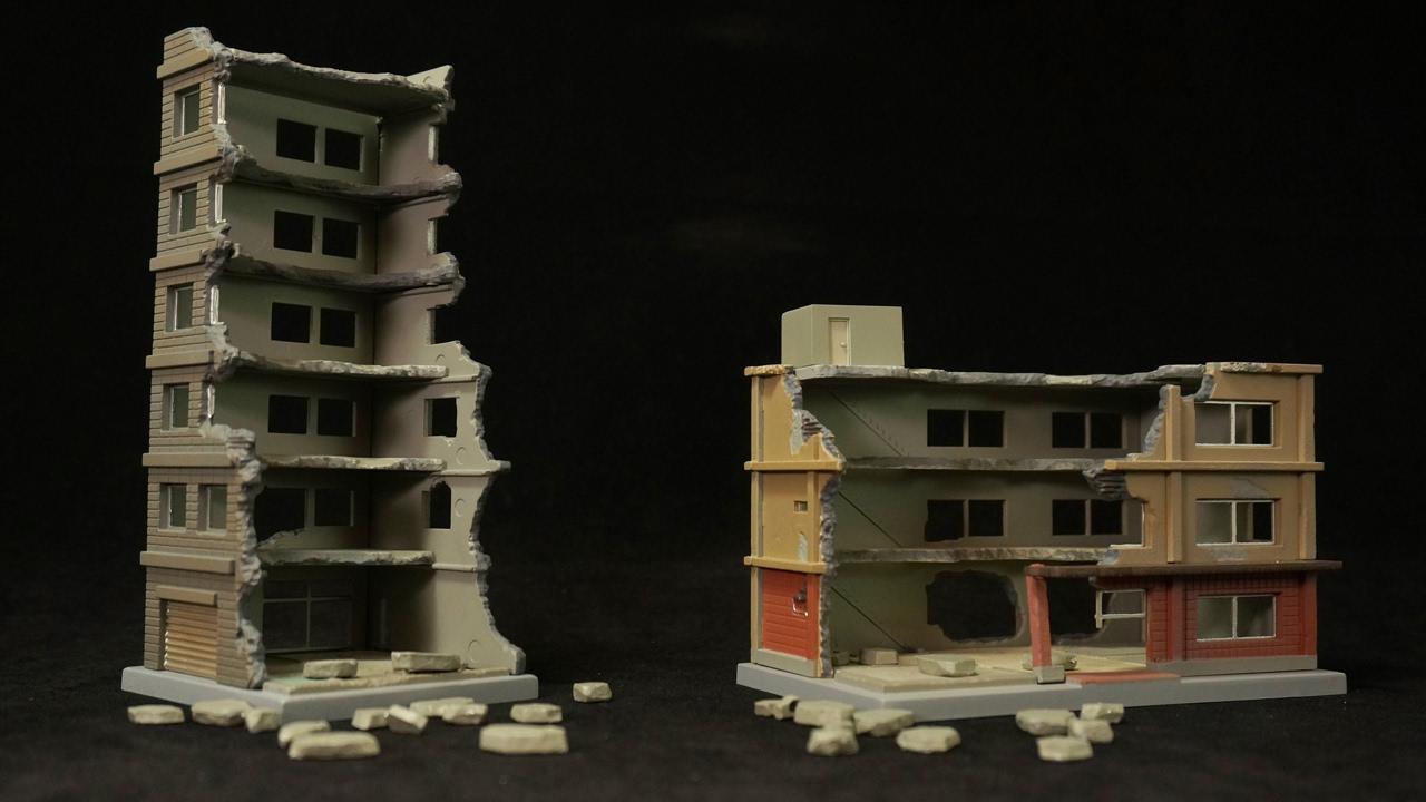 ジオラマ 建物