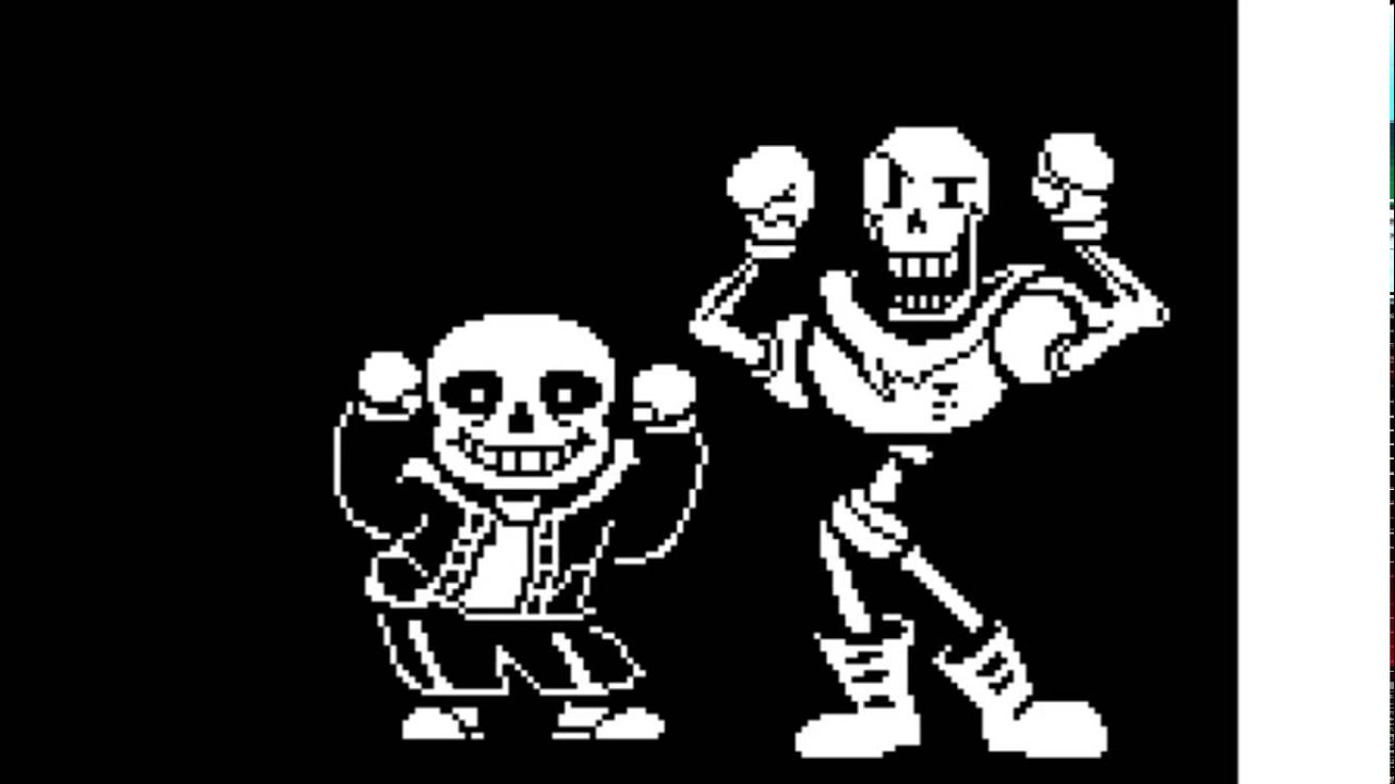 Sans And Papyrus Animation Dancing