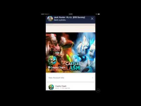 Add Castle Clash On Line Chat (unofficial Account)