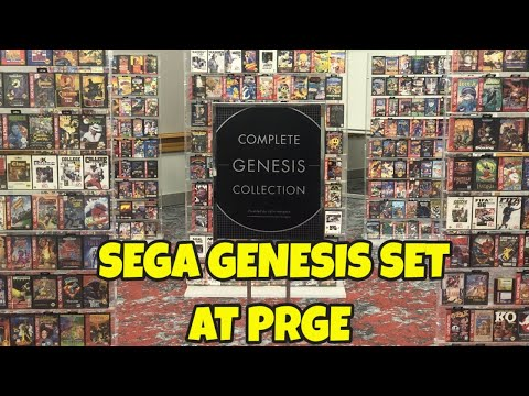 Complete US Sega Genesis Game Collection at PRGE