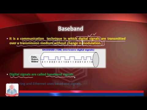 Bandwidth , Baseband & Broadband