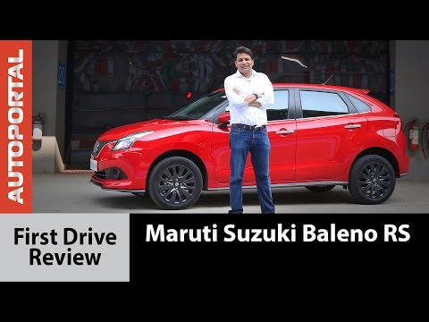 Maruti Suzuki Baleno RS First Drive Review - Autoportal