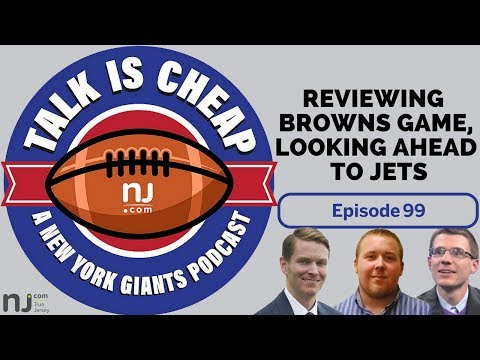 Reviewing Giants vs. Browns, looking forward to Jets