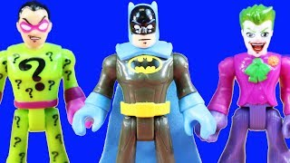 Imaginext DC Super Heroes Vs. DC Supervillains + Joker And Batman Toy Collection