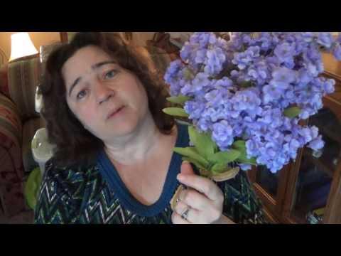 Silk Flower Storage & Organizing Idea