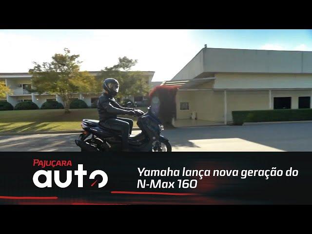 Yamaha lança nova geração do N-Max 160