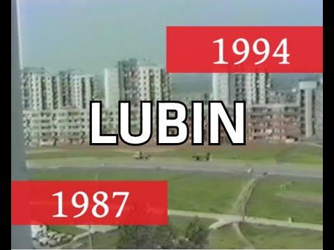 Jak wyglądał Lubin w 1987 i 1994 (wideo)