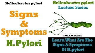 The Signs and Symptoms of Helicobacter Pylori Infection