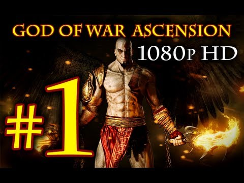 God Of War Ascension - Walkthrough Part 1 [1080p HD] - First 90 Minutes! - God Of War 4 Walkthrough