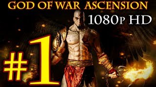 God Of War Ascension - Walkthrough Part 1 [1080p HD] - First 90 Minutes! - God Of War 4 Walkthrough