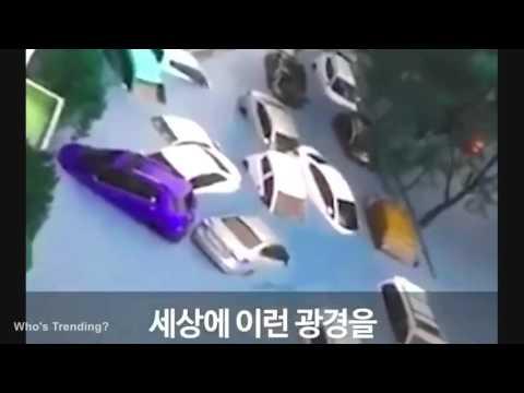 Tsunami-Like Typhoon on Busan South Korea October 5 2016 (SHOCKING VIDEOS), Tsunami on Busan