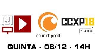 VIDEO QUEST na CCXP! 06/12, 14h, no estande da CRUNCHYROLL!