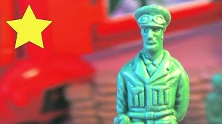 МУЛЬТИПСИК мультики про солдатиков Военные игрушечные солдатики Игрушки для мальчиков Игровой набор