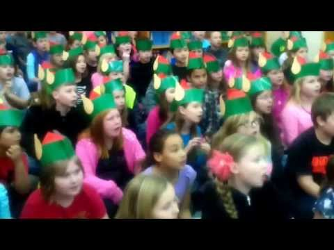 The Woodland Elves LOVES Buckeye Valley East Elementary School!