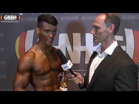 Interview Sieger Teenage: Emir Omeragic (2. GNBF Int. Deutsche Meisterschaft 2016)