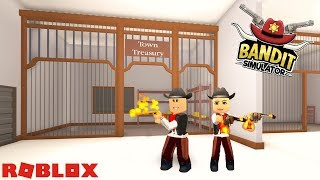 SHERIFF! STOP THE BANDITS! / Roblox: Bandit Simulator