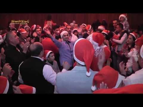 جهاد عيلبوني حفلة عيد الميلاد المجيد 25-12-2013 NISSIM KING