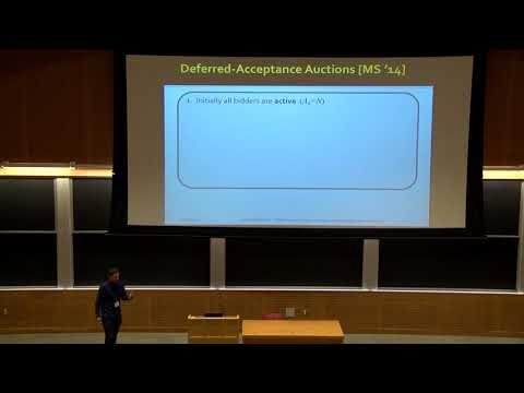 Deferred-Acceptance Auctions for Multiple Levels of Service