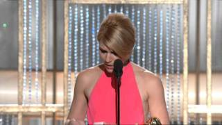 Claire Danes Wins Best Actress TV Movie - Golden Globes 2011