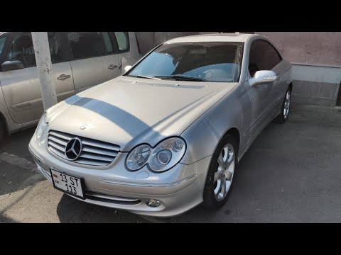Mercedes Benz CLK320 2004, 100 000км, японец