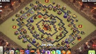 Max TH10 Walk Queen With Vallky Bowler Attack On Famous Ring Base | 3 Star TH10 | Clash Of Clan