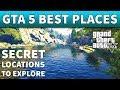 GTA 5 Secret Locations | AWESOME GTA 5 BEST SECRET PLACES TO VISIT AND EXPLORE GTA Online