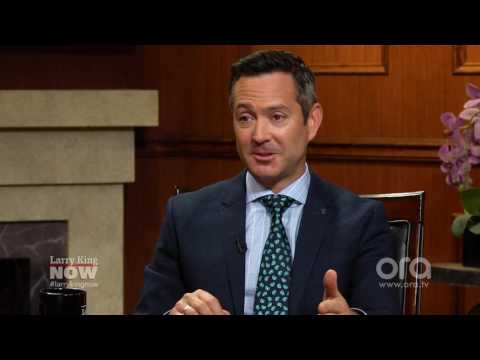 Why Thomas Lennon might never escape Lt. Jim Dangle | Larry King Now | Ora.TV