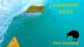 Summer 2021 Surf Video Surfing In New Zealand