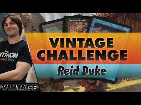 Reid Duke Plays a 6-Round Vintage Challenge with Storm