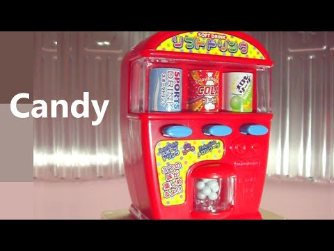 Heart 2 - Miniature Vending Machine with Tiny Candy (You can eat candy)