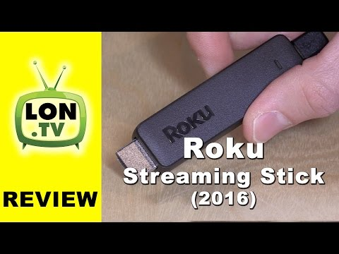 New Roku Streaming Stick (3600R) Review - 2016