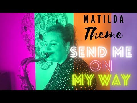 SEND ME ON MY WAY (Rusted Root) | SAXOPHONE Cover By Marshali Scott
