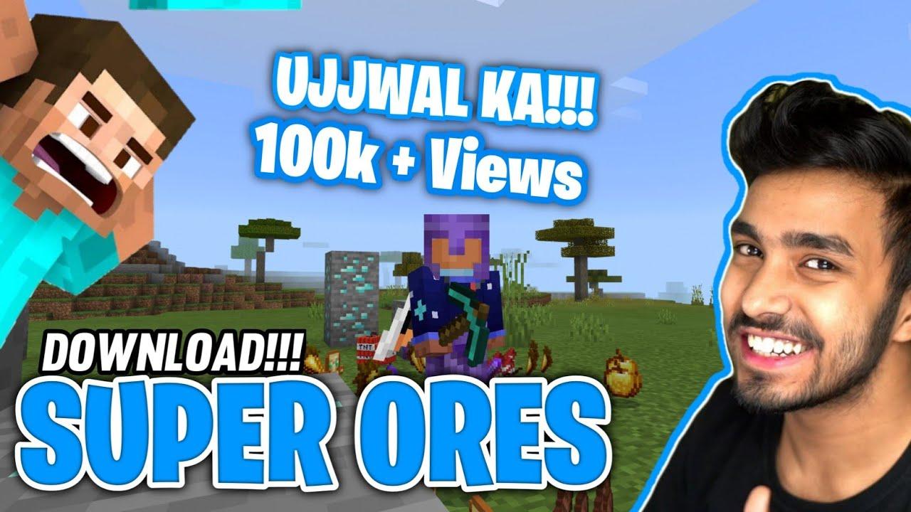 Download Op Ores Mod In Minecraft Download | how to download ores drop op items mod for minecraft pe