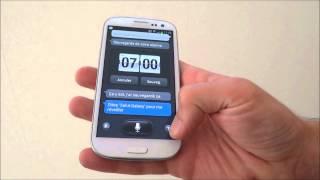 Test français de S Voice (S Voix) sur le Samsung Galaxy S3