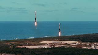 Falcon Heavy & Starman Music Video by Space X