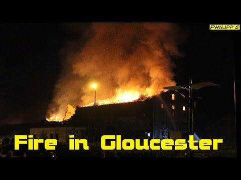 NEWS - Fire in Gloucester