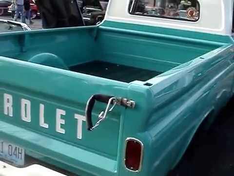 1960 Chevy Apache 20 34 Ton 8 Foot Bed And Fwd Youtube