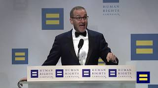 HRC President Chad Griffin Speaks at the 2018 HRC National Dinner