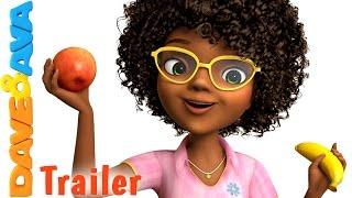 🍌 Apples and Bananas 2 - Trailer | Nursery Rhymes and Baby Songs from Dave and Ava 🍎