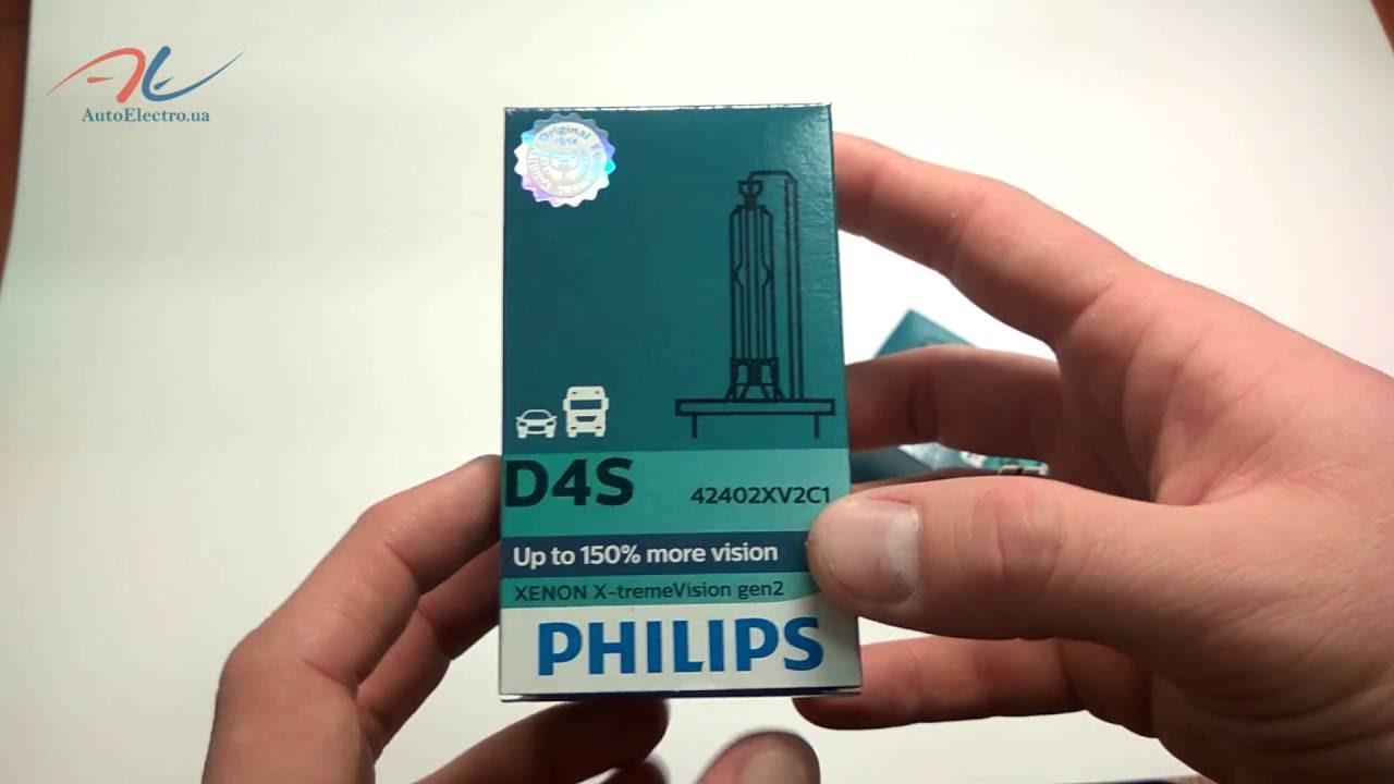Тест-обзор ламп D2R Philips Xenon X-tremeVision (85126XVC1 .