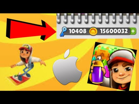How To Hack Subway Surfers On Ios No Clickbait Infinite Coins And Infinite Keys Youtube