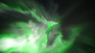 Unbelievably intense Northern Lights superstorm