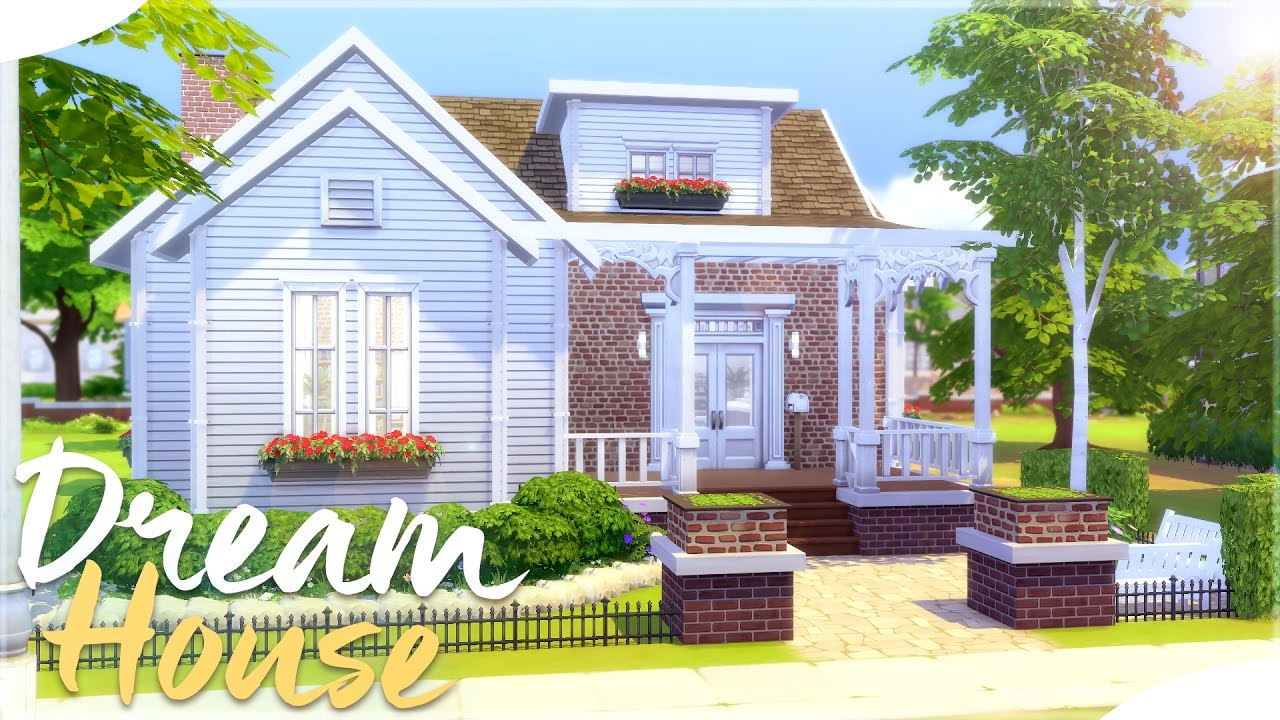 The sims 4 house building my dream house for Building your dream home on your own lot