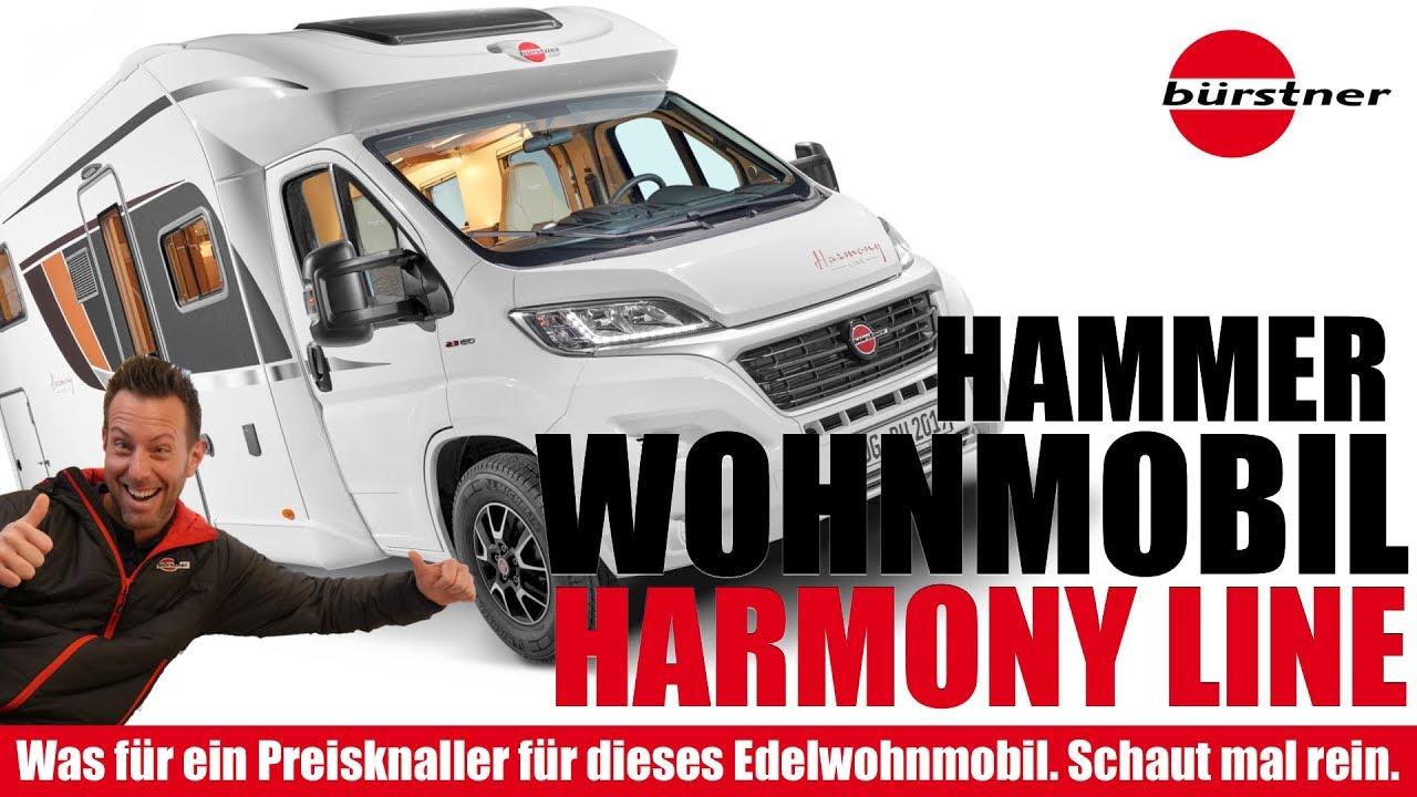 CMT 10 💣 Bombe! Bürstner Wohnmobil Lyseo TD Harmony Line.